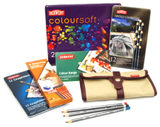 Derwent pencils, pencil sets, drawing sets and visual diaries